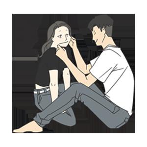小确幸-2020浪漫情人 messages sticker-7