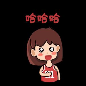 费球女孩 messages sticker-2