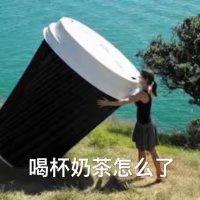 来杯奶茶-趣味斗图 messages sticker-10