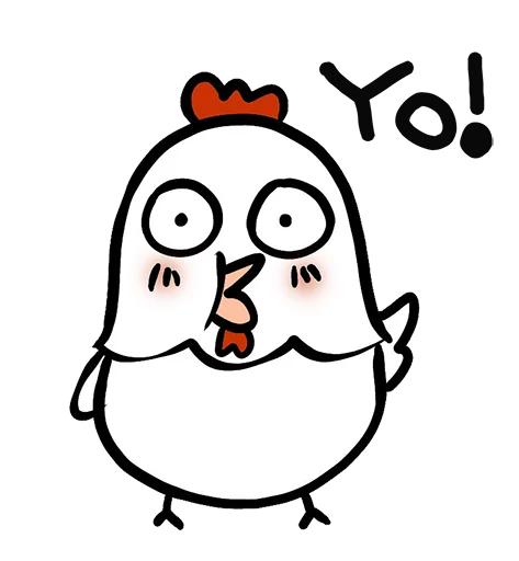 Chick Kimi Stickers messages sticker-4