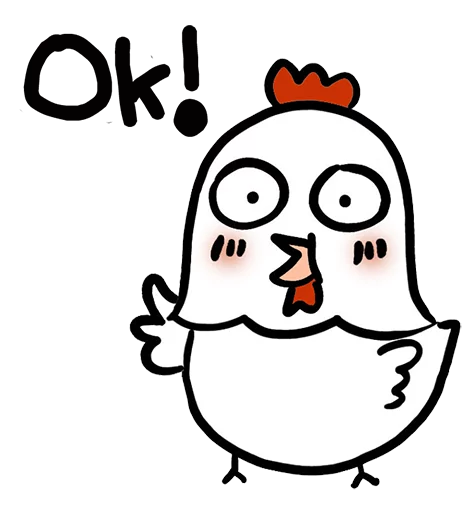 Chick Kimi Stickers messages sticker-8