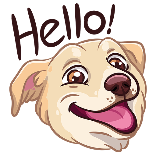 BarkerMojis - Cute Doggos messages sticker-0