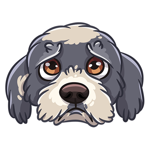 BarkerMojis - Cute Doggos messages sticker-4