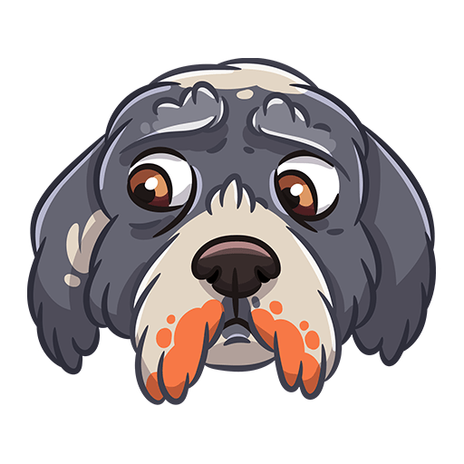 BarkerMojis - Cute Doggos messages sticker-8
