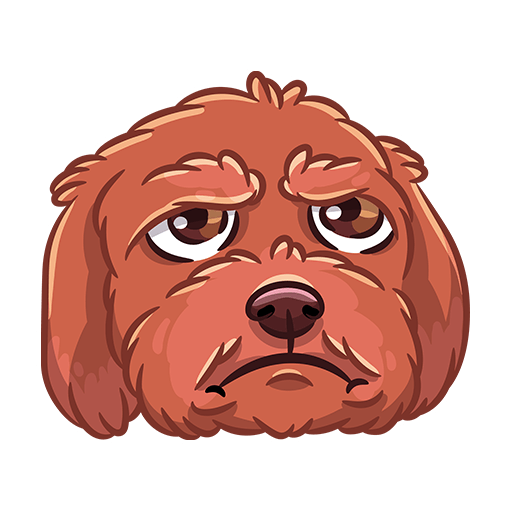 BarkerMojis - Cute Doggos messages sticker-11