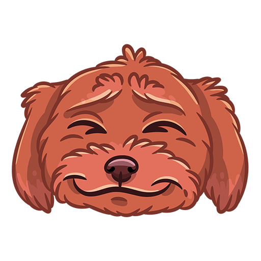 BarkerMojis - Cute Doggos messages sticker-6