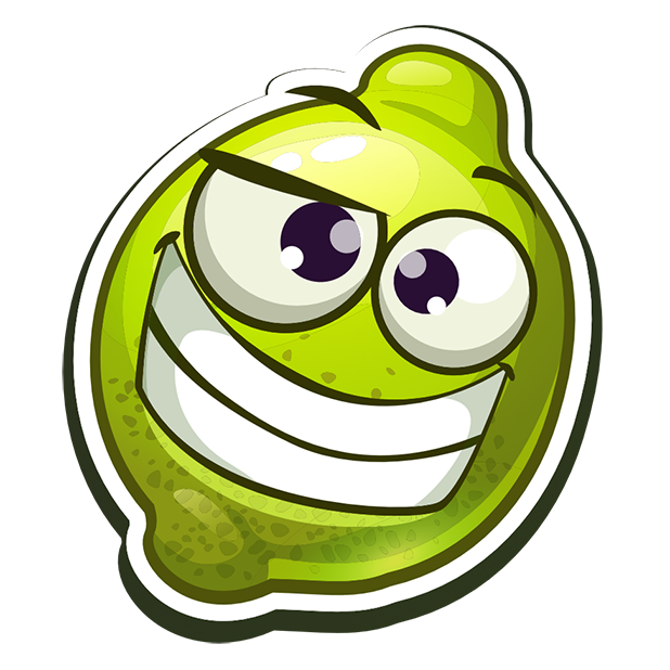Funny Fruits Stickers messages sticker-0