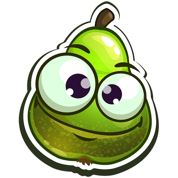 Funny Fruits Stickers messages sticker-8