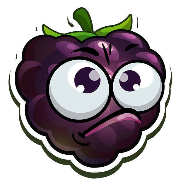 Funny Fruits Stickers messages sticker-1