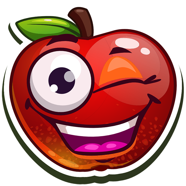 Funny Fruits Stickers messages sticker-5