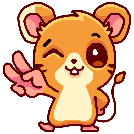 Mouse Moxi Stickers messages sticker-1