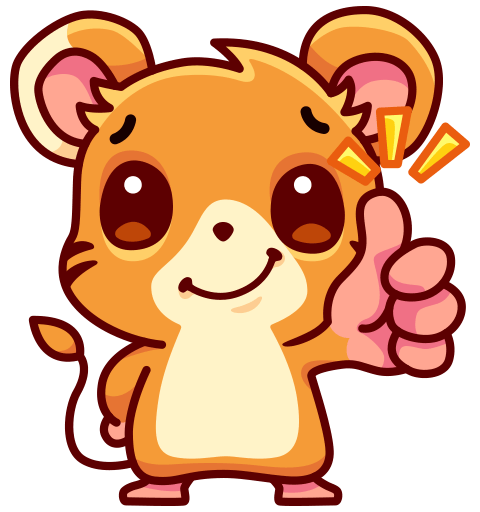 Mouse Moxi Stickers messages sticker-3