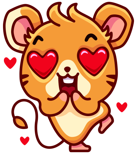 Mouse Moxi Stickers messages sticker-4