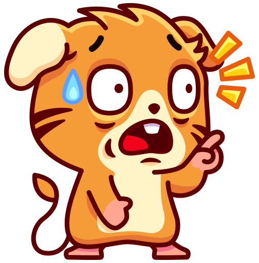 Mouse Moxi Stickers messages sticker-11