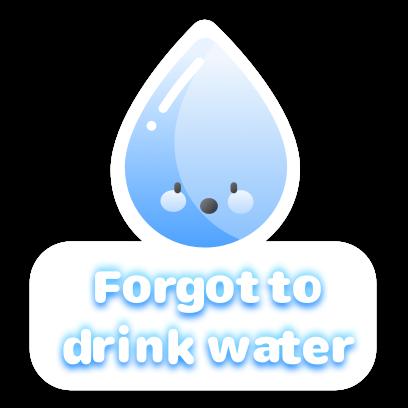 H2O: Water Tracker & Reminder messages sticker-7