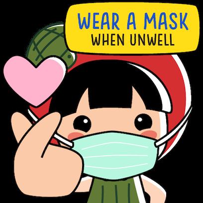 Ang Ku Kueh Girl - Fighting messages sticker-4