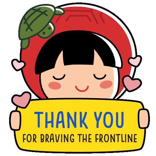 Ang Ku Kueh Girl - Fighting messages sticker-8