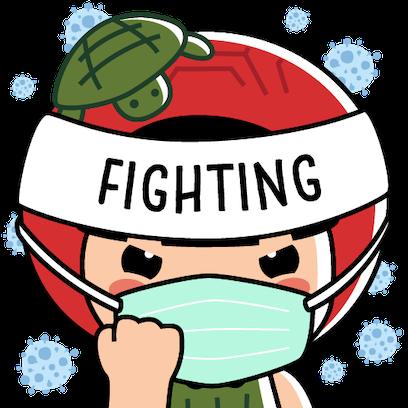 Ang Ku Kueh Girl - Fighting messages sticker-7