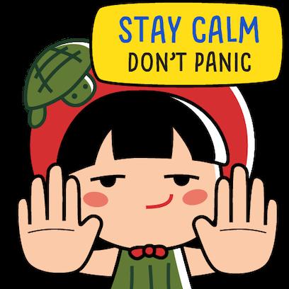 Ang Ku Kueh Girl - Fighting messages sticker-5