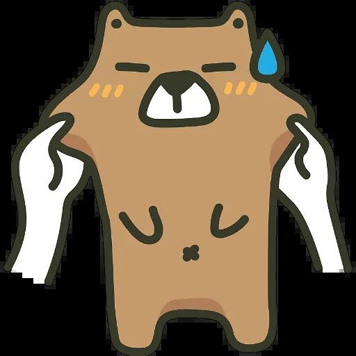 BearBear-Sticker messages sticker-1