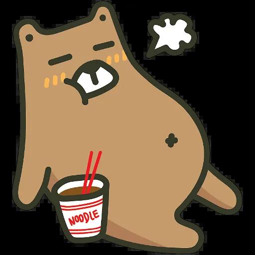 BearBear-Sticker messages sticker-9
