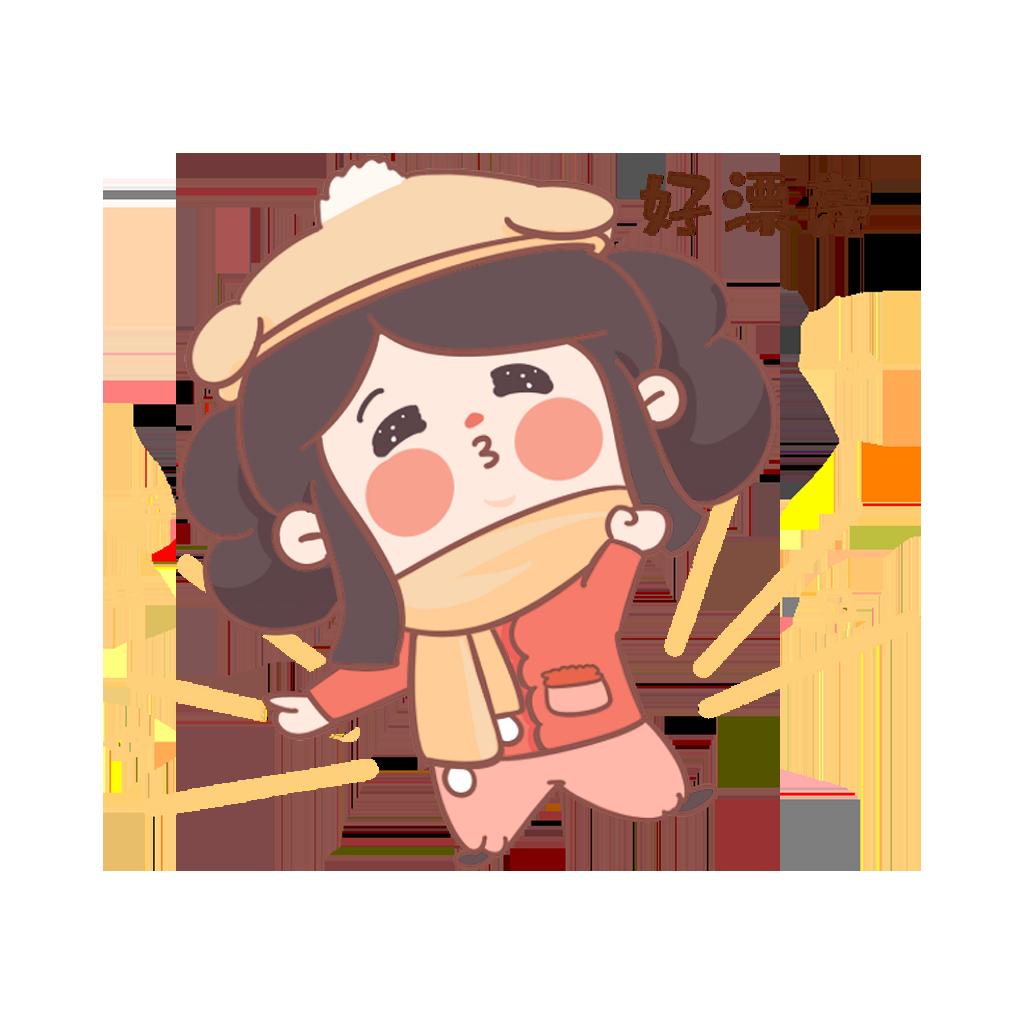 闹元宵-元元小妹 messages sticker-10