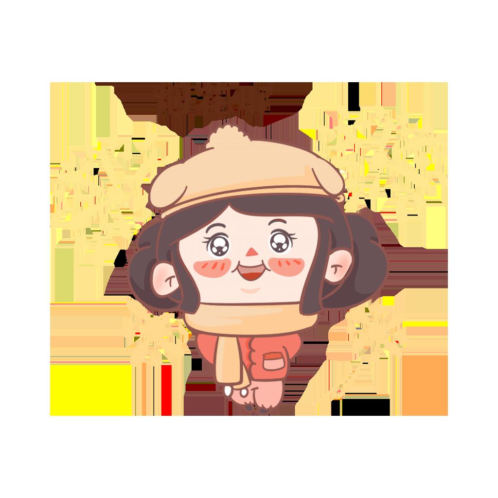 闹元宵-元元小妹 messages sticker-4