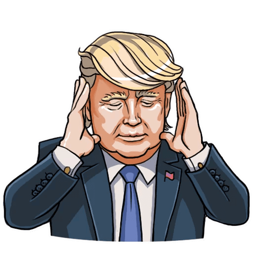 Donald Trump Stickers Pack messages sticker-6