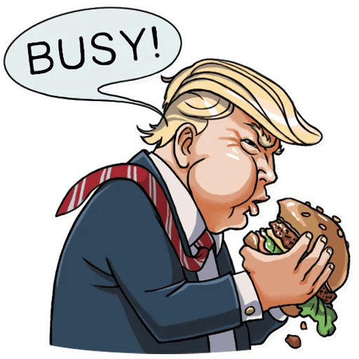 Donald Trump Stickers Pack messages sticker-11