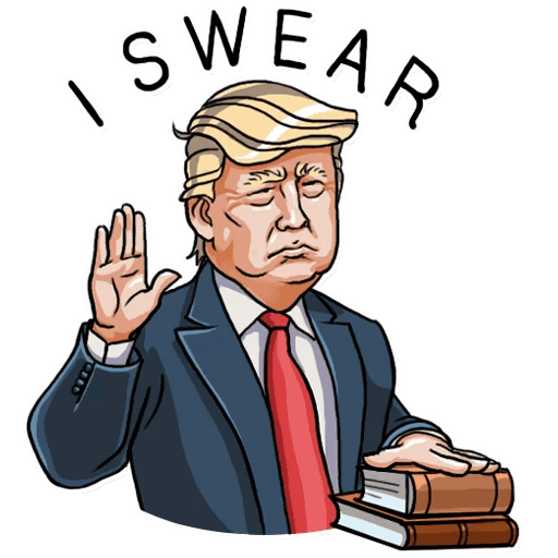 Donald Trump Stickers Pack messages sticker-4