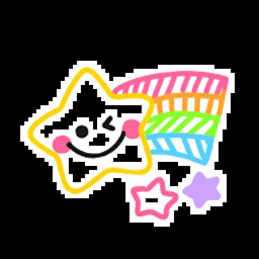 Colorful Emoji Stickers messages sticker-10