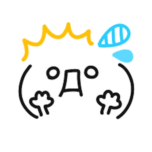 Colorful Emoji Stickers messages sticker-0