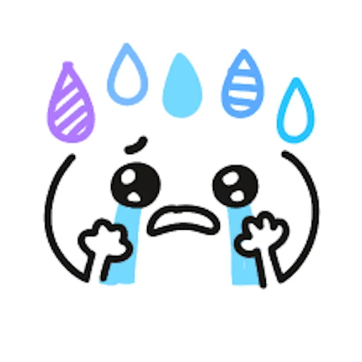 Colorful Emoji Stickers messages sticker-3