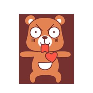 LittleBear messages sticker-2