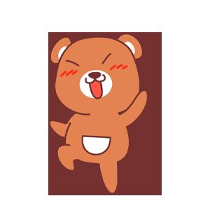 LittleBear messages sticker-10