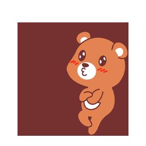 LittleBear messages sticker-11