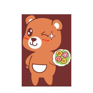 LittleBear messages sticker-3