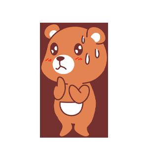 LittleBear messages sticker-6