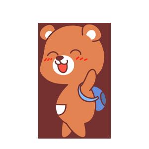 LittleBear messages sticker-5