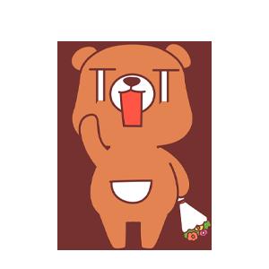 LittleBear messages sticker-7