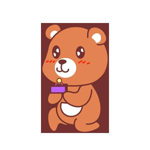 LittleBear messages sticker-1