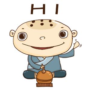 蛤蟆和尚 messages sticker-1