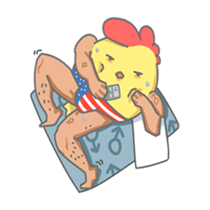 ChickenStrong messages sticker-0