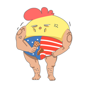 ChickenStrong messages sticker-3