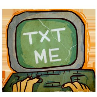 Apocalypse 2020 messages sticker-2