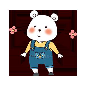 CuteBear messages sticker-5