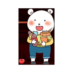 CuteBear messages sticker-10