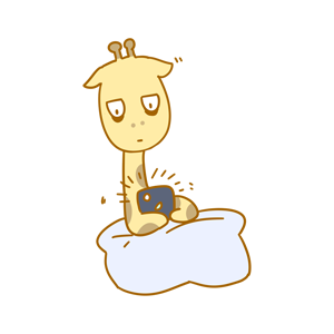 Here comes the giraffe messages sticker-9