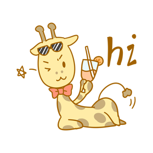 Here comes the giraffe messages sticker-6