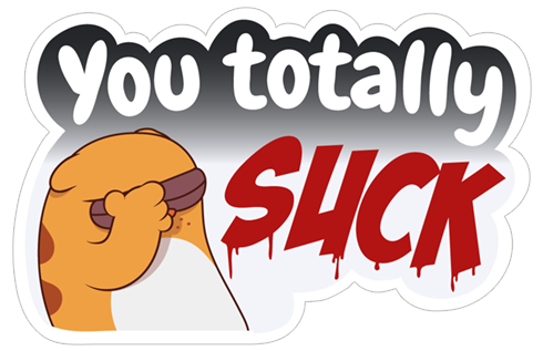 Be Cynical Sticker messages sticker-3